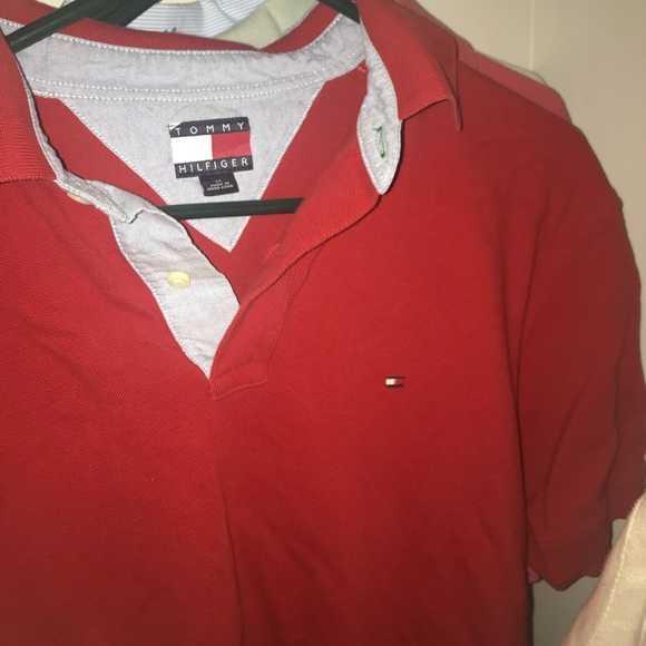 Tommy Hilfiger Other - Red tommy polo